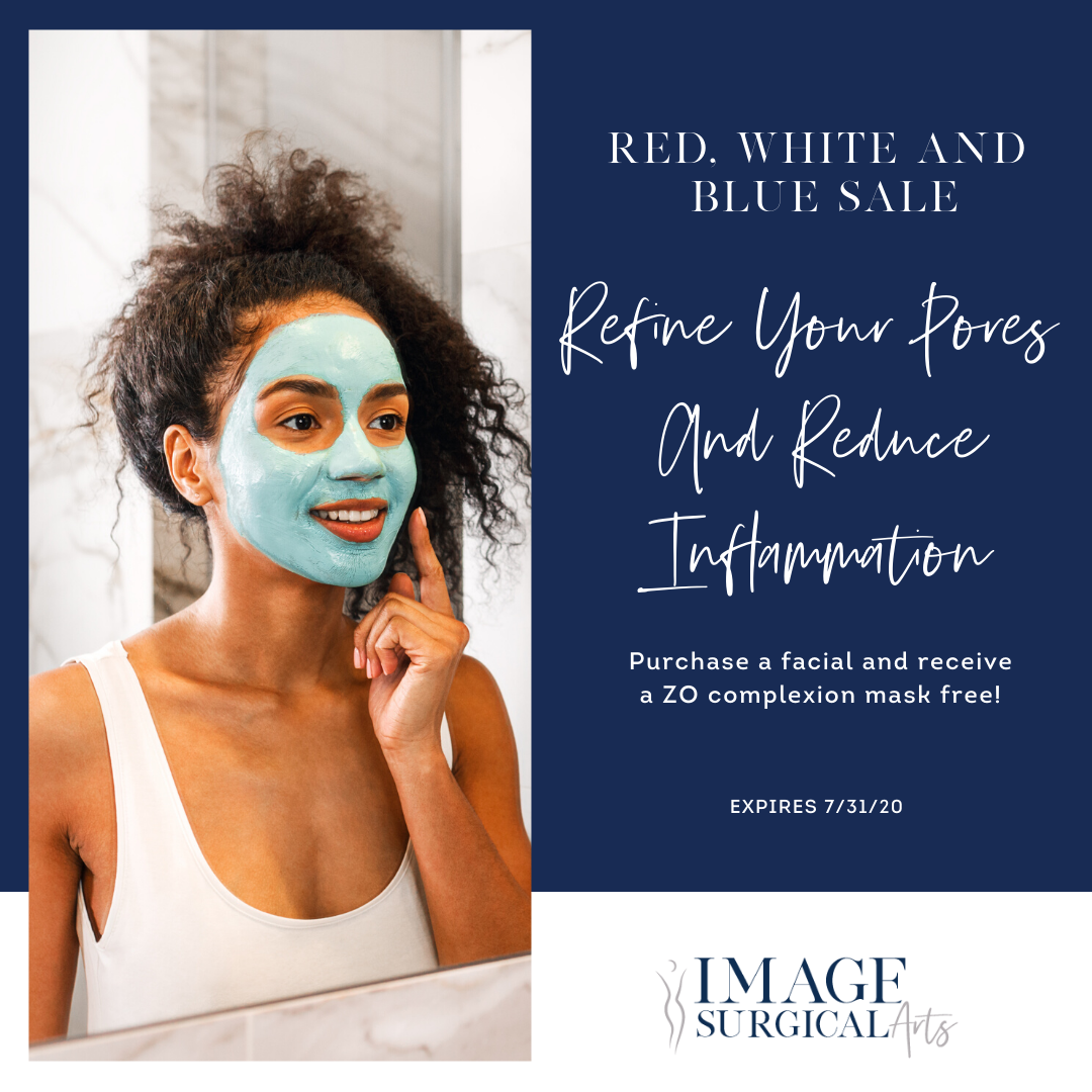 July Specials Blue Sale Complexion Mask (1)
